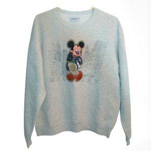 Disney Mickey Embroidered Vintage Sweatshirt